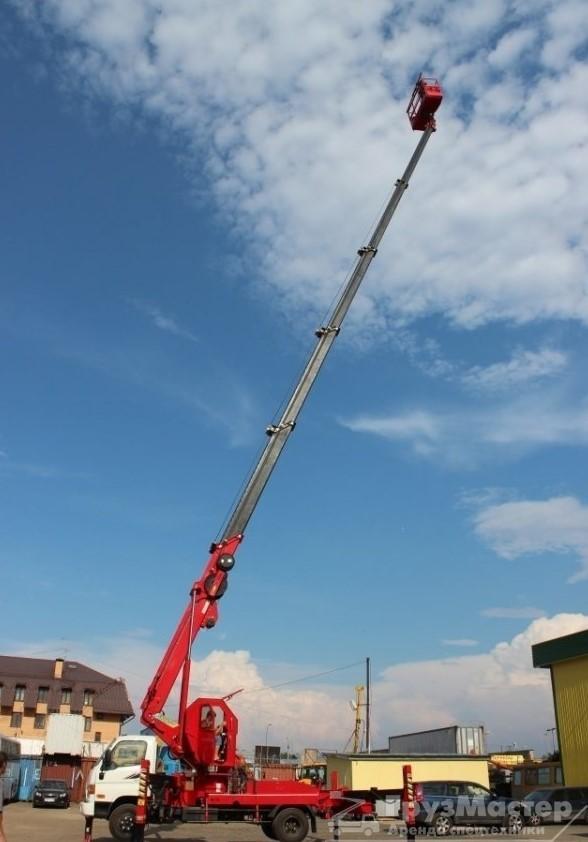 Аренда автовышки 45 метров - ГрузМастер