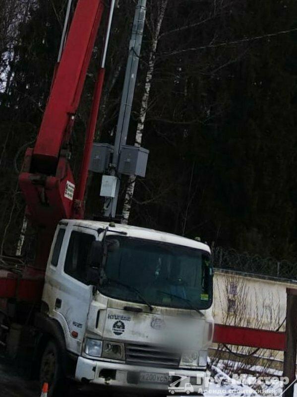 аренда автовышки 26 м люберцы МО