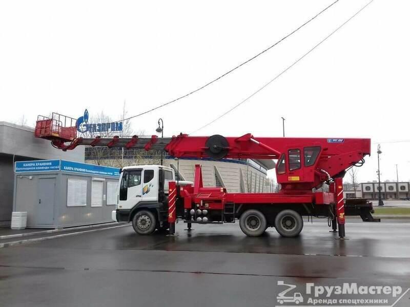аренда автовышки 50 м ногинск МО