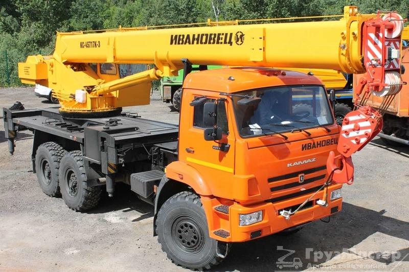 аренда автокрана 25 тонн в москве