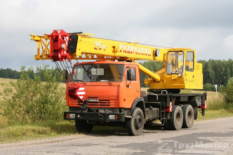Аренда автокрана 25 тонн 22 метра - Грузмастер