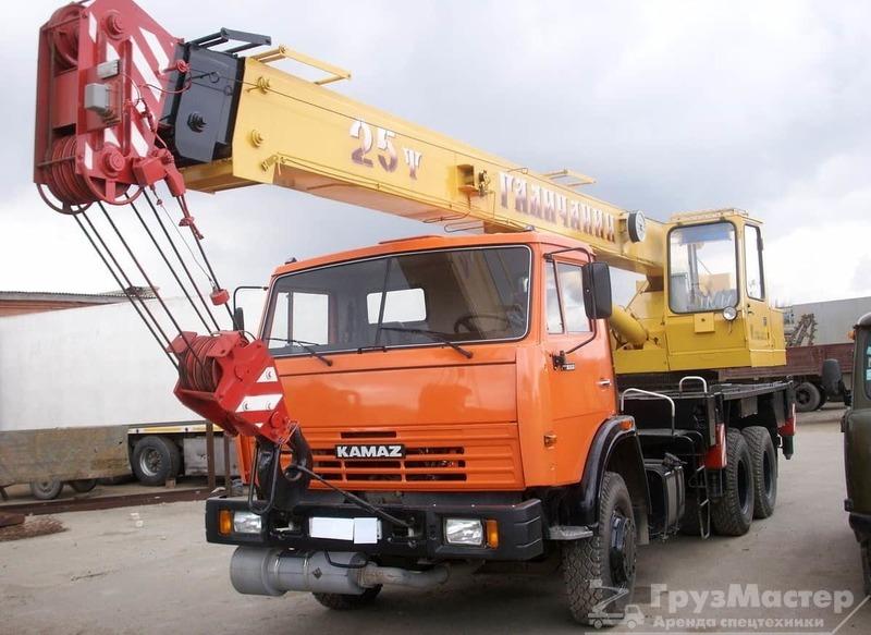аренда автокрана 25 метров 28 тонн