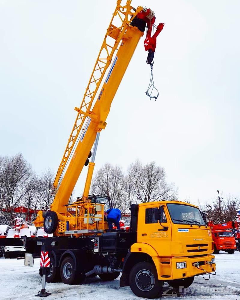 Аренда автокрана 25 тонн 31 метр