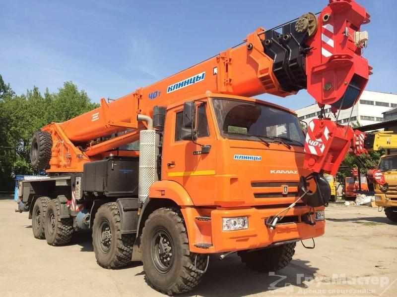 аренда автокрана 40 тонн 40 метров в москве