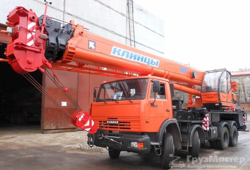 Аренда автокрана 40 тонн 35 метров
