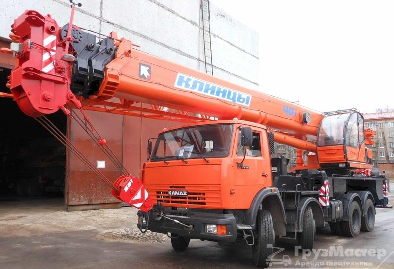 аренда автокрана 40 тонн в москве