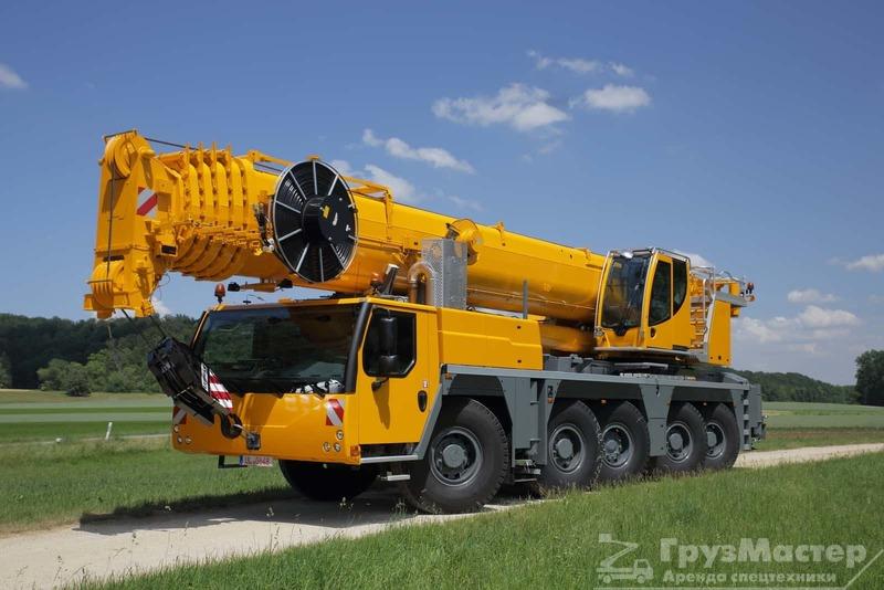 аренда автокрана LIEBHERR LTM 1160 в москве