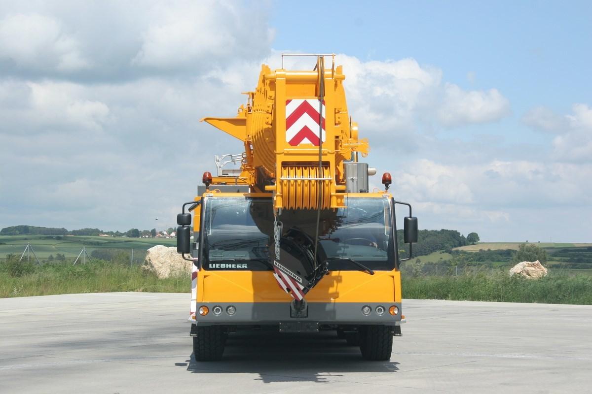 Аренда автокрана Liebherr LTM 1200