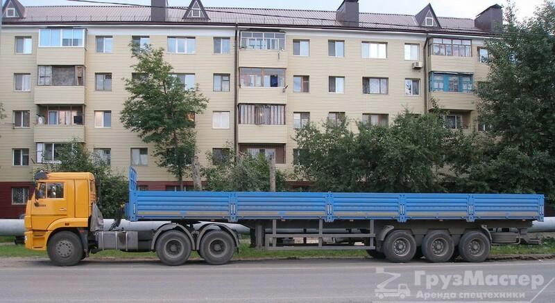 Аренда длинномера 12 метров 20 тонн в москве