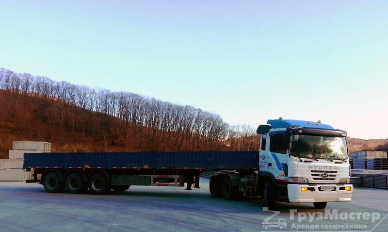 Аренда длинномера 13,6 метров 20 тонн в москве