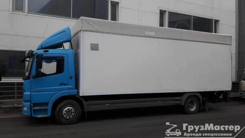 Аренда грузового авто Mercedes 5 тонн в москве