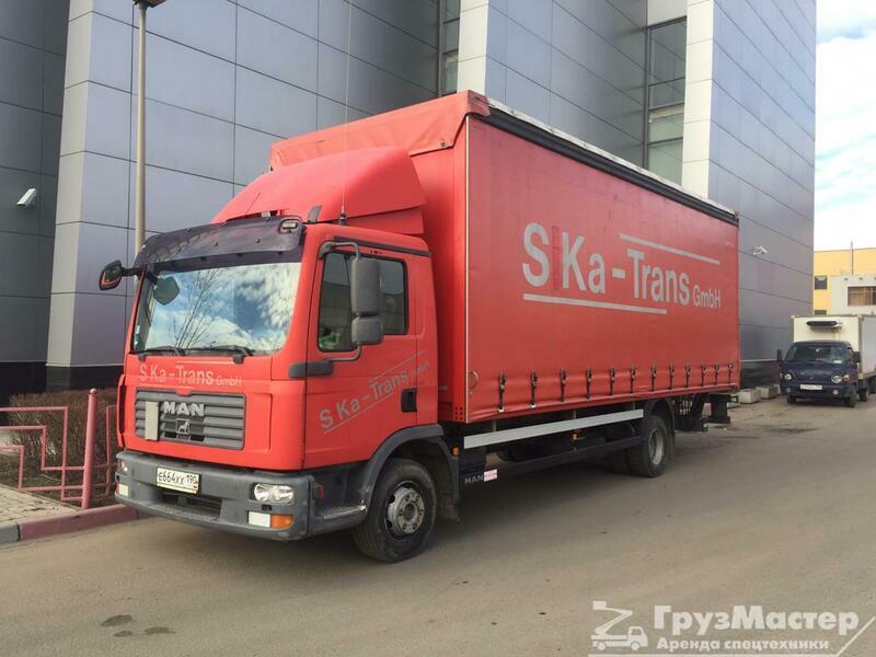 Аренда грузового авто MAN 5 тонн в москве