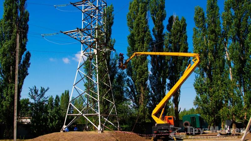 Аренда вышки для линий электропередач в Москве и Московской области
